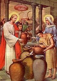 حضور مريم في العرس