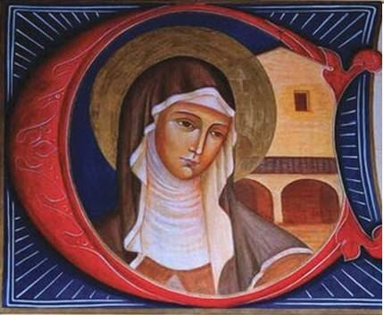 القديسة كلارا الأسيزية