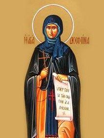 ألقدّيسة دومْنِينا تِلميذة ُ مار مارون