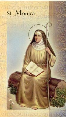 القديسة مونيكاوالدة القديس أوغسطينوس