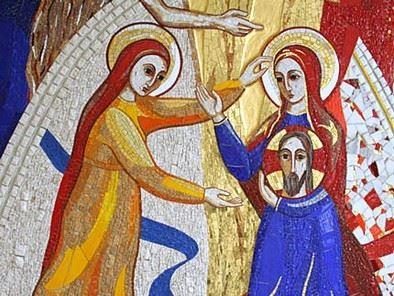 زيارة مريم لأليصابات