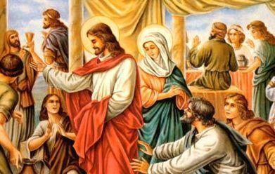مريم والكنيسة: عرس قانا الجليل