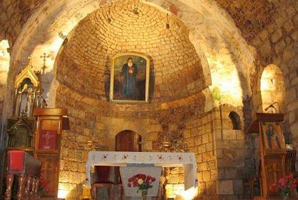 في عدد النوافير الموجودة في كنيسة  أنطاكية