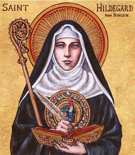 من هي القديسة ايلدغارد؟