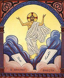 المسيح في ليتورجيا عيد الفصح