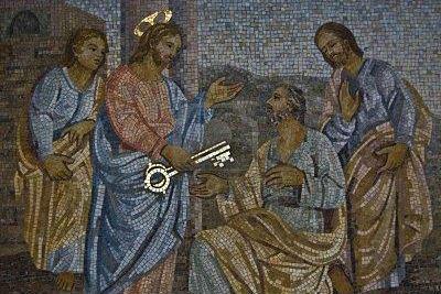 بطرس، الصخرة التي شيّد عليها المسيح كنيسته