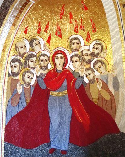 """مريم """"أمّ الكنيسة"""""""
