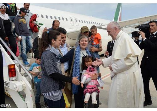 رسالة البابا لمناسبة اليوم العالميّ للمهاجر واللاجئ 2018
