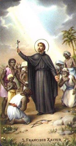 القدّيس فرنسيس كسفاريوس  شفيع المُرسلين