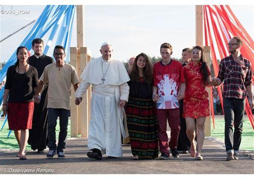 رسالة قداسة البابا  بمناسبة اليوم العالمي للشباب 2018