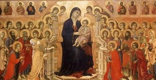 مريم العذراء في قلب الكنيسة