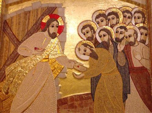 ظهور يسوع للتلاميذ وتوما معهم